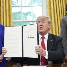 United States: President Donald Trump signs executive order to keep migrant families together