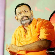 जिन स्वामी परिपूर्णानंद को भाजपा 'दक्षिण के योगी आदित्यनाथ' मान रही है, वे कौन हैं?