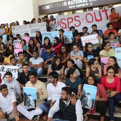 Students at Raipur's Hidayatullah Law University launch hunger strike to force out vice chancellor