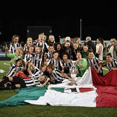 Juventus women make it a double Scudetto for the club in debut season