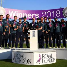 'As the series has gone on, we have improved': Morgan after England's 2-1 win over India
