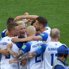 World Cup 2018: Iceland hang on for point on debut as Lionel Messi has penalty saved