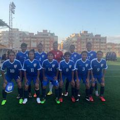 Cotif Cup football: Indian women beat Alzira 3-1 in warm-up