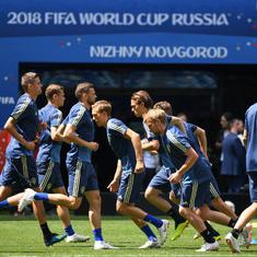 'Spygate' squabble rages on as Sweden, South Korea square-off in World Cup clash