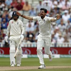 Ishant picks up five wickets as England set India target of 194 to win first Test