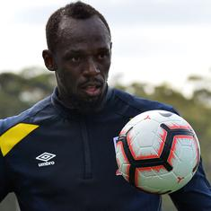 Football: Australian club Central Coast Mariners terminates Usain Bolt's trial after 3 months