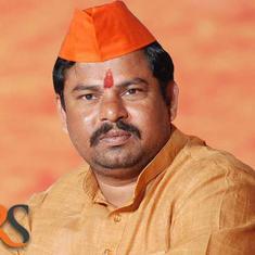 Hyderabad: MLA fasts seeking withdrawal of FIRs against gau rakshaks, taken into preventive custody