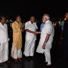 The big news: Narendra Modi reaches Kerala to take stock of flood situation, and 9 other top stories