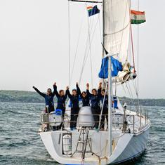 All-women crew of INSV Tarini return to India after historic global circumnavigation