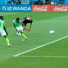 World Cup: Musa's brace for Nigeria sinks Iceland, keeps Argentina's last-16 chances alive