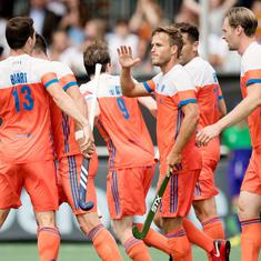 Hockey Champions Trophy: Netherlands thrash Belgium and Australia beat Pakistan as India stay on top