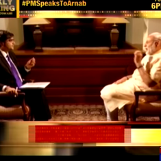 Readers' comments: Arnab Goswami 'is a politician in the garb of a journalist'