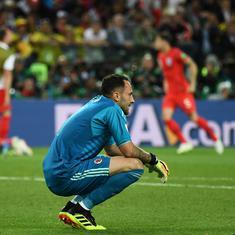 Arsenal goalkeeper David Ospina joins Napoli on season–long loan