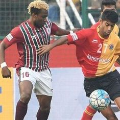 Mohun Bagan beat East Bengal to take a huge step towards the I-League title