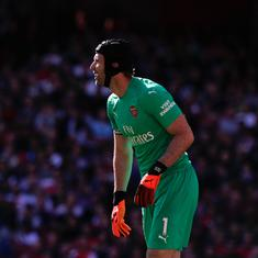 After Watford win, Arsenal left to deal with Petr Cech injury and Aaron Ramsey's future