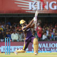 Narine, Russell star as Kolkata Knight Riders beat Kings XI Punjab to stay alive in play-off race