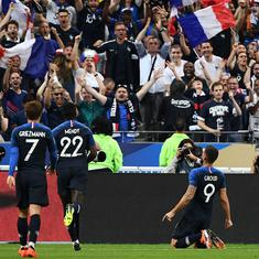 UEFA Nations League: Giroud bags the winner in France's 2-1 victory over Netherlands