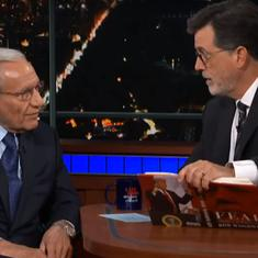 Watch: Bob Woodward talks 'Fear' with Stephen Colbert, says the truth on Trump will emerge