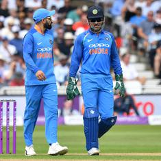 Virat Kohli rested for T20I series against WI; MS Dhoni left out for both WI and Australia T20Is