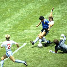 Fifa World Cup moments: Maradona shows his wizardry – in dark arts and football