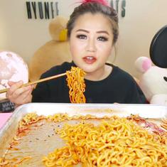 Watch: The Korean practice of mukbang allows people to earn while eating on a video stream