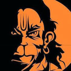 Angry Hanuman: This viral image that won Modi's praise symbolises today's aggressive, macho India