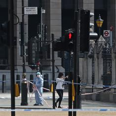 UK: Suspect who crashed car into barriers outside Parliament identified