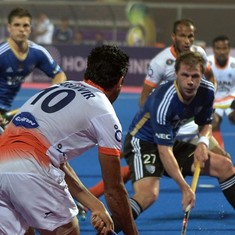 Hockey: India go down 1-2 to Belgium in Champions Trophy