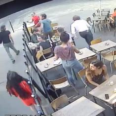 Watch: Paris woman is assaulted by her harasser for standing up to him