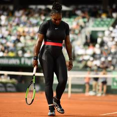 'Serena was perfect': American star's attitude defused dress code row says French Open director