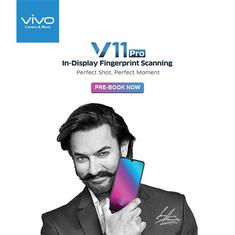 Vivo V11 Pro launched in India, priced at Rs. 25,990