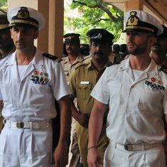 Italian marine accused of killing Indian fishermen returns to Italy