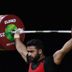 Asian Games weightlifting: India's campaign ends with Vikas Thakur finishing 8th in men's 94kg