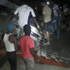 Chennai: One dead, 32 injured as scaffold, girders of under-construction hospital collapse