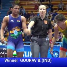 India's Gaurav Baliyan to fight for gold at Wrestling Cadet World Championships