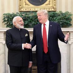 नरेंद्र मोदी ने डोनाल्ड ट्रंप से बात की, आपसी हित के क्षेत्रों में सहयोग बढ़ाने की इच्छा जताई