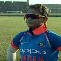 Taniya Bhatia stars with bat and behind the stumps as India clinch a thriller against Sri Lanka