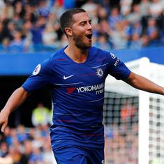 Chelsea manager Sarri hints playing Hazard as 'false nine' against Leicester