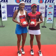 Indian tennis: Pranjala-Rutuja win second title together, Ankita Raina bows out of Jihan ITF event