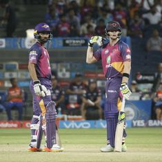 IPL 10: Tension? What tension? Smith and Rahane combine to help Pune chase 185 against Mumbai