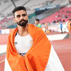 After Continental Cup medal, Asian Athletics Championships the next challenge for Arpinder Singh