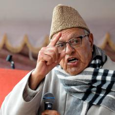 Jammu and Kashmir: Former CM Farooq Abdullah says Hurriyat must be included in peace talks