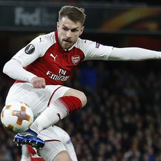 Aaron Ramsey set to see out final year at Arsenal after breakdown in contract talks