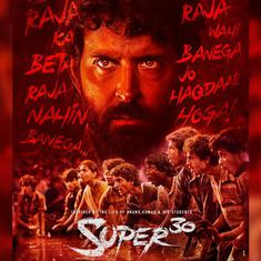 First look: Hrithik Roshan plays a superhero teacher in 'Super 30'