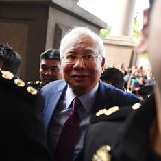 Former Malaysian PM Najib Razak charged with corruption in $681 million scandal, pleads not guilty