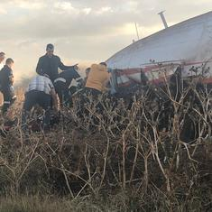South Africa: 20 injured as plane crashes near Pretoria, at least one critical