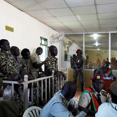 South Sudanese court sentences 10 soldiers to jail for raping foreign aid workers, killing reporter