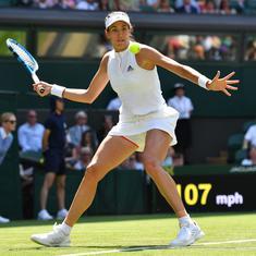 Wimbledon, day 2 women's roundup: Kvitova, Sharapova stunned, Muguruza starts defence strong