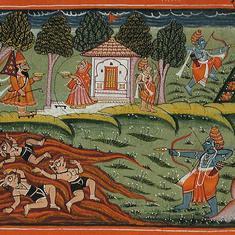 गुजरात : 12वीं के छात्र पढ़ रहे हैं कि सीता का अपहरण राम ने किया था