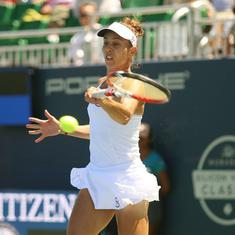 Mihaela Buzarnescu's long road back from injury ends in San Jose with first WTA title